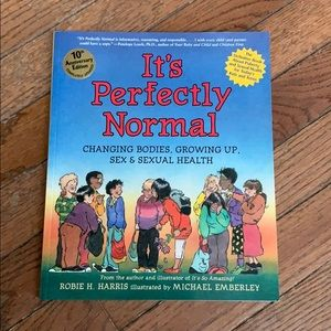 It's Perfectly Normal Book about Puberty for Kids